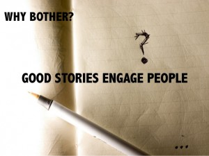 good stories engage people